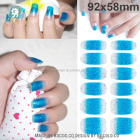 Y5021/New 2015 water transfer/self adhesive nail art stickers nail foil wraps