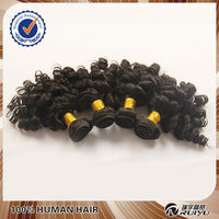 no chemical processing low price virgin Chinese remy hair weft