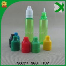 colorful PET 25ml plastic liquid container for e liquid