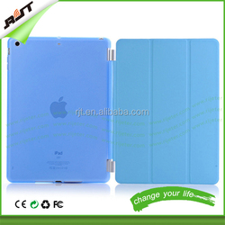 Ultra thin tablet cover pu leather case for ipad mini,flip pu leather cover for ipad mini case
