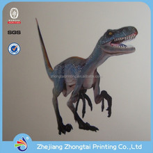 Funny and removable decorative dinosaur wall stickers