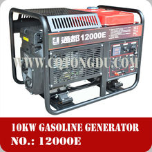 air cooled 12kva gasoline generator,open type,power generator supplier of power