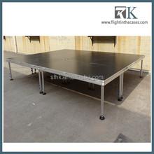 RK factory outlet decent stage/ aluminum frame/ plywood platform