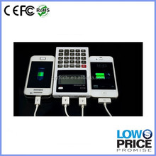 2015 New product promotion 6000 mah calculator mobile power bank