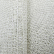 100 cotton plain white cotton fabric dooby design