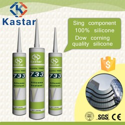 Construction Dow corning quality GP silicone joint sealants for LED display shop showcase
