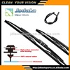 Universal Frame Wiper Blade with Graphite Coated, SP coated, Telfon coated