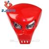 New Street Fighter Bike Motorcycle Universal Dirt Bike 12V Red Lamp Vision Headlight Custom Fiber Glass FRP