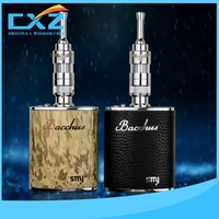 Power bank wooden color and black istick 40w huge vapor mod box mod