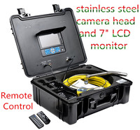 Plumbing pipe inspection camera with cable reel rotatable in the case,3199F
