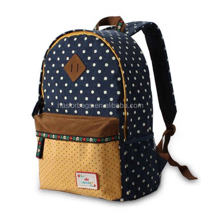 2016 nouveau style primaire sacs d'école pour les adolescents filles