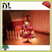 Hot sale unique design christmas lighting artificial colorful led christmas tree
