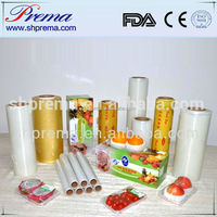 FDA Approved Top quality pvc stretch film for food wrap with Japanese quality .