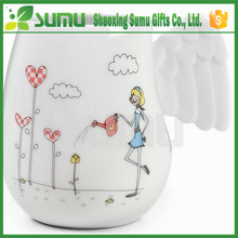 2015 Hot Selling Widely Use Angel Wings Coffee Cup Mug