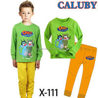 Good quality crazy selling kids quilted pajamas