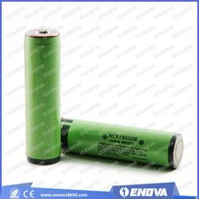 for Panasonic 18650 3400mAh rechargeable battery with pcb battery batteries manufacturer
