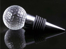 crystal Wine Stopper with ball head wine accessory