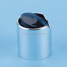 plastic black bottle pressed opening cap disc top cap