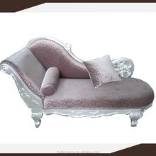 Danxueya- elegant chaise lounge chair, white color high end chaise sofa, furniture diwan lounge suite
