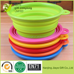 Silicone Collapsible Water Food Bowl for pet