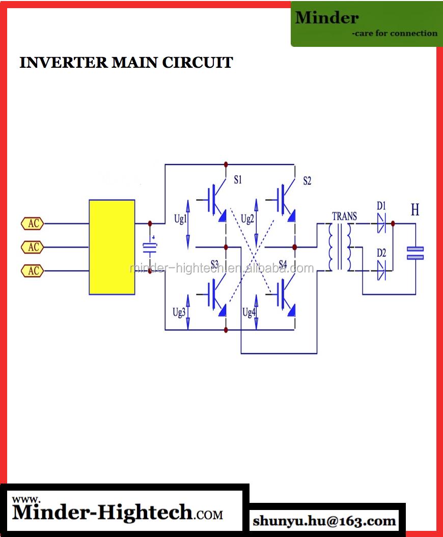 Bench Top Mid Frequency Inverter Spot Welder Mdzj 20000 View Welding Schematic Diagram Main Circuit