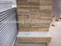 Factory Price interior or exterior Rockwool wall sandwich panels