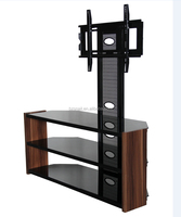 new model modern led simple wood tv stand