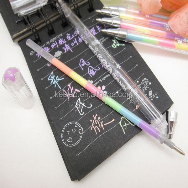 Gel pens that write on black paper