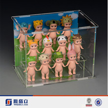 Factory wholesale acrylic doll stand/ children toy boxes