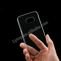 Rock Cell Phone Case For Samsung Galaxy S6 Edge Hard Transparent Clear,For S6 Edge Clear Phone Cover