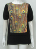 Pretty Steps new arrival high fashion ladies african print designer tops 2015 fancy ladies tops latest design