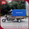 China factory wholesale low price blue the disabled three wheel motorcycle with cabin