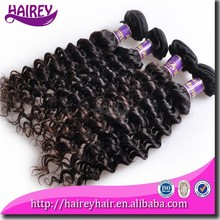 High Quality Grade 6A Unprocessed Human Hair 1B Color Malaysian Curly Hair 4pcs Mixed Lot