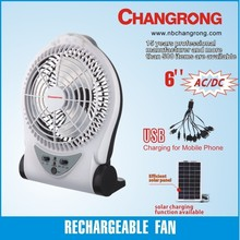 best-selling rechargeable portable mini fan with USB and DC
