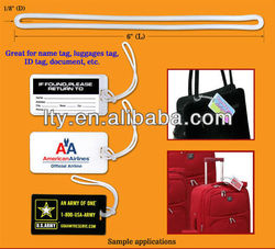 custom paper airline luggage tags(PT-140)