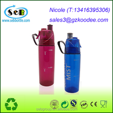 Water Spray bottle / Plastic Sport Drinking Bottle / Innovative Squeeze Sports Water Bottle for Outdoor