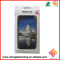 custom printed paper box packaging for mobile case