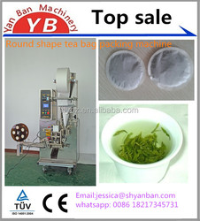 YB-66 Round shape tea bag packing machine , Automatic tea bag packing machine