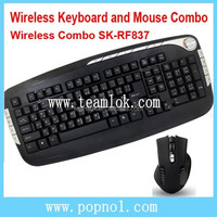 SK- RF837 Keyboard Mouse Combos for Computer Laptops
