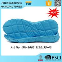 2015 Abrasion Resistant EVA Shoe Sole Trade Men Shoe Sole To Buy Factory