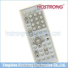 Popular cream DVD remote control