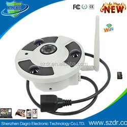 Easy to Install DIY H.264 Smart Home HD720P Digital Wireless Video P2P WIFI Security System CCTV Camera IP Camera with SD Card