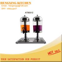 Double Juice Dispenser Machine Orange Juice Dispenser