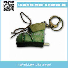 New design Support Multi-system Leather shoe high speed flash usb 2.0