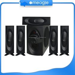 Hot China factory sound speaker price,active subwoofer 5.1