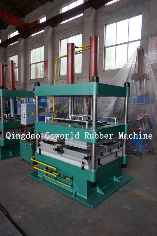 Rubber flooLXB-550*550*4 r molding press /rubber tiles production / rubber tiles production machine