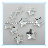 clear shinning star shape DMC hot fix crystal rhinestone