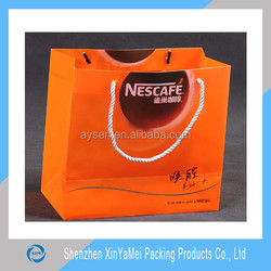 customized pp/pvc shopping tote bags with factory price