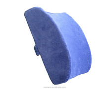 Memory Foam Lower Back pain Cushion, back support cushion, Lumbar Support with Washable Cover and Strap--best Back Pain Relief G