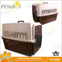 wood table fit folding pet cage for large pets